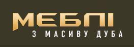 Логотип компанії Меблі з масиву дуба