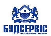 Логотип компанії Будсервіс, Завод покрівельних матеріалів