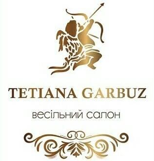 Логотип компанії TETIANA GARBUZ Весільний салон