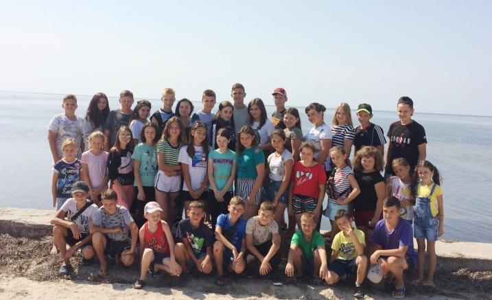Діти учасників АТО відпочили на Херсонщині та Прикарпатті