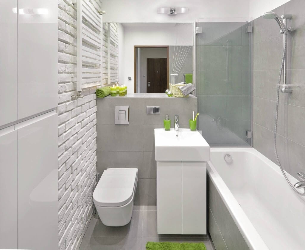 Як стильно облаштувати маленьку ванну кімнату?