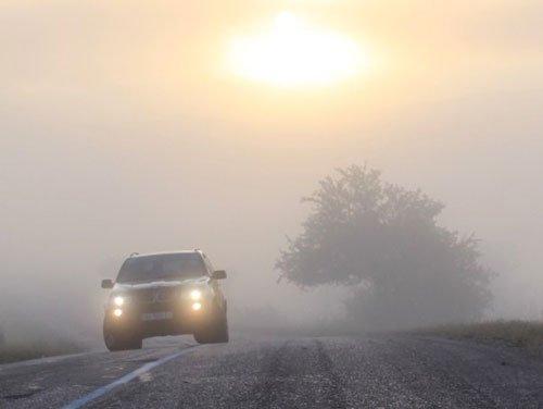 Прикарпатців попереджають про густий туман