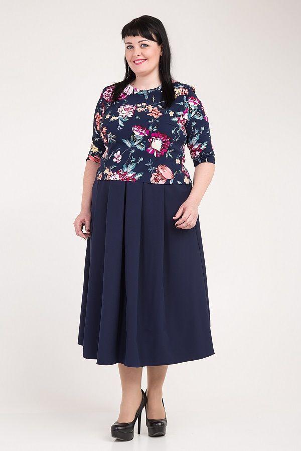 "Сукня ""Меделін"" М336-01 розміри 52-56"