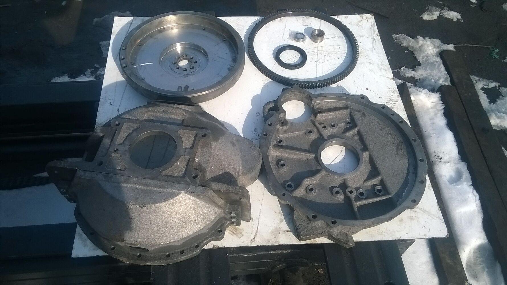 Перехідна плита до двигуна т40