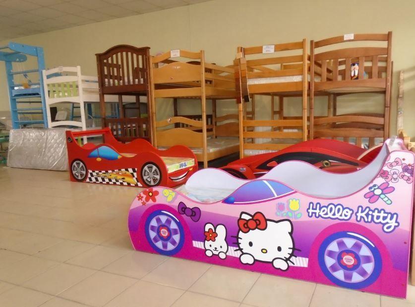1- та 2-ярусні ліжка з дерева (в салоні >30 моделей)
