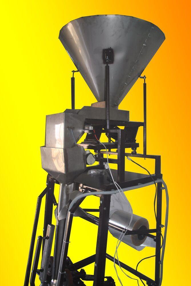 Пакувальний напівавтомат для фасування сипких продуктів