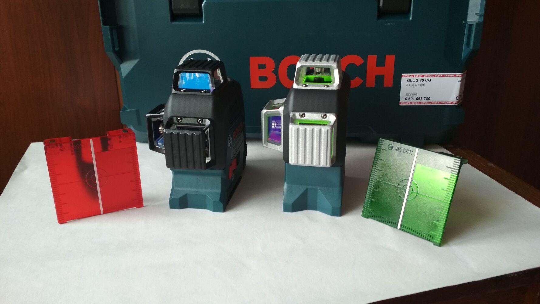 Нівелір лазерний Bosch, Hilti.