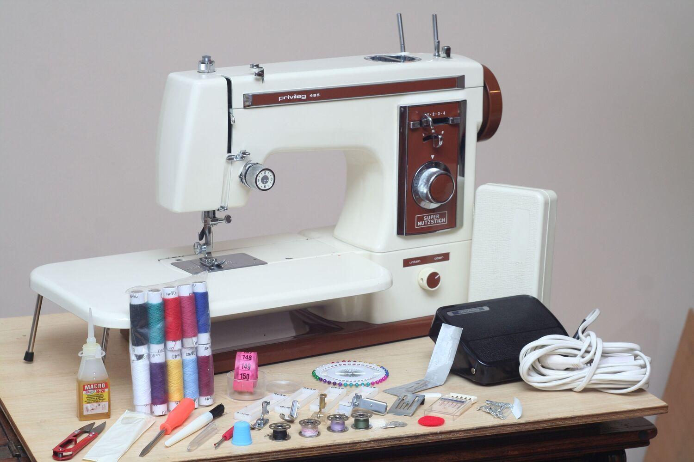 Швейна машина Privileg 485 шкіра Японія - стан нової. Гарантія.