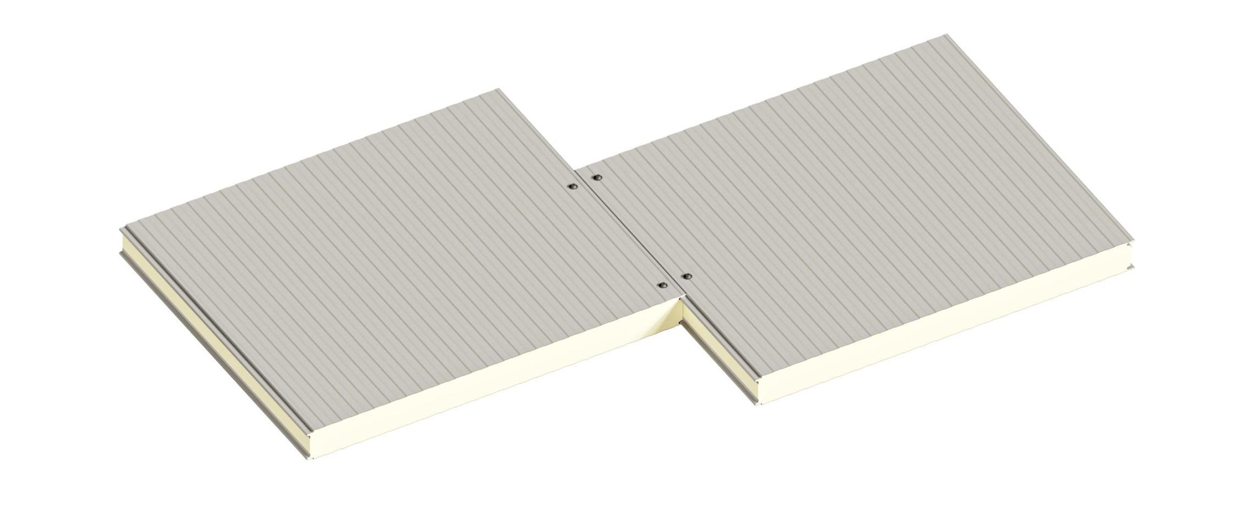 Сендвіч-панелі стінові поліуретан та пінополіізоціанурат