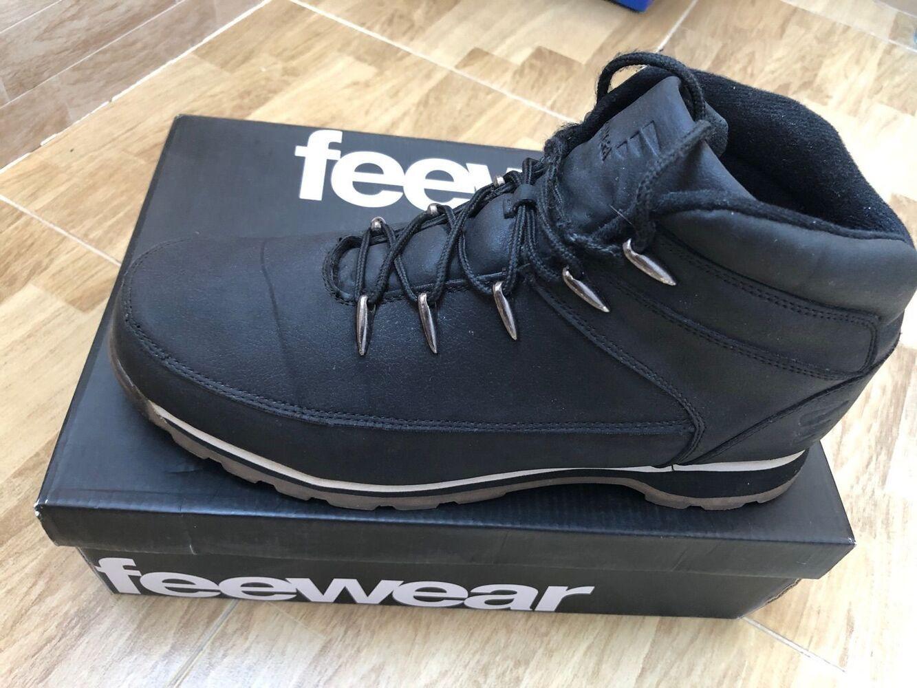 Продам чоловічі черевики Feewear типу Timberlend колір графіт