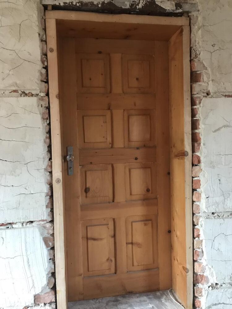 Двері дерев'яні, соснові