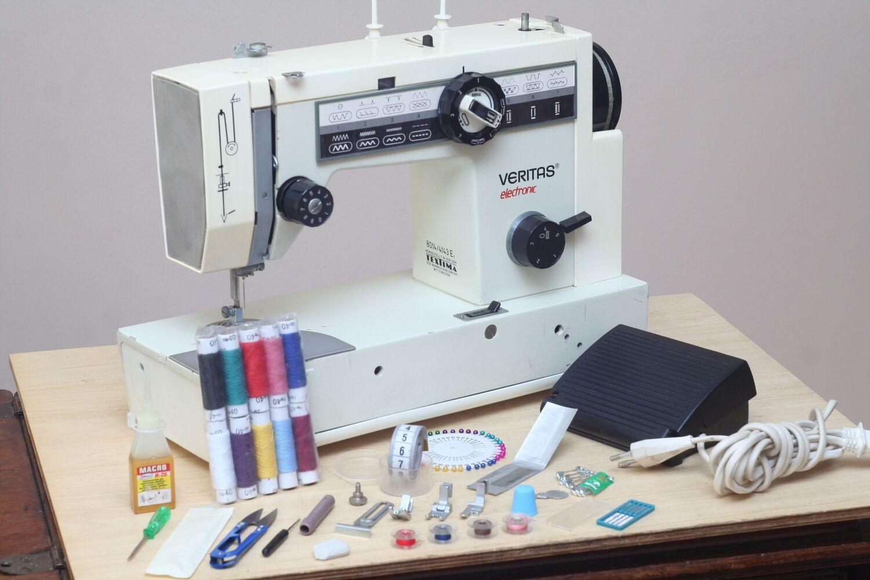 Швейная машина Veritas 8014/4143E Германия, 1981г. Кожа. Гарантия 6мес