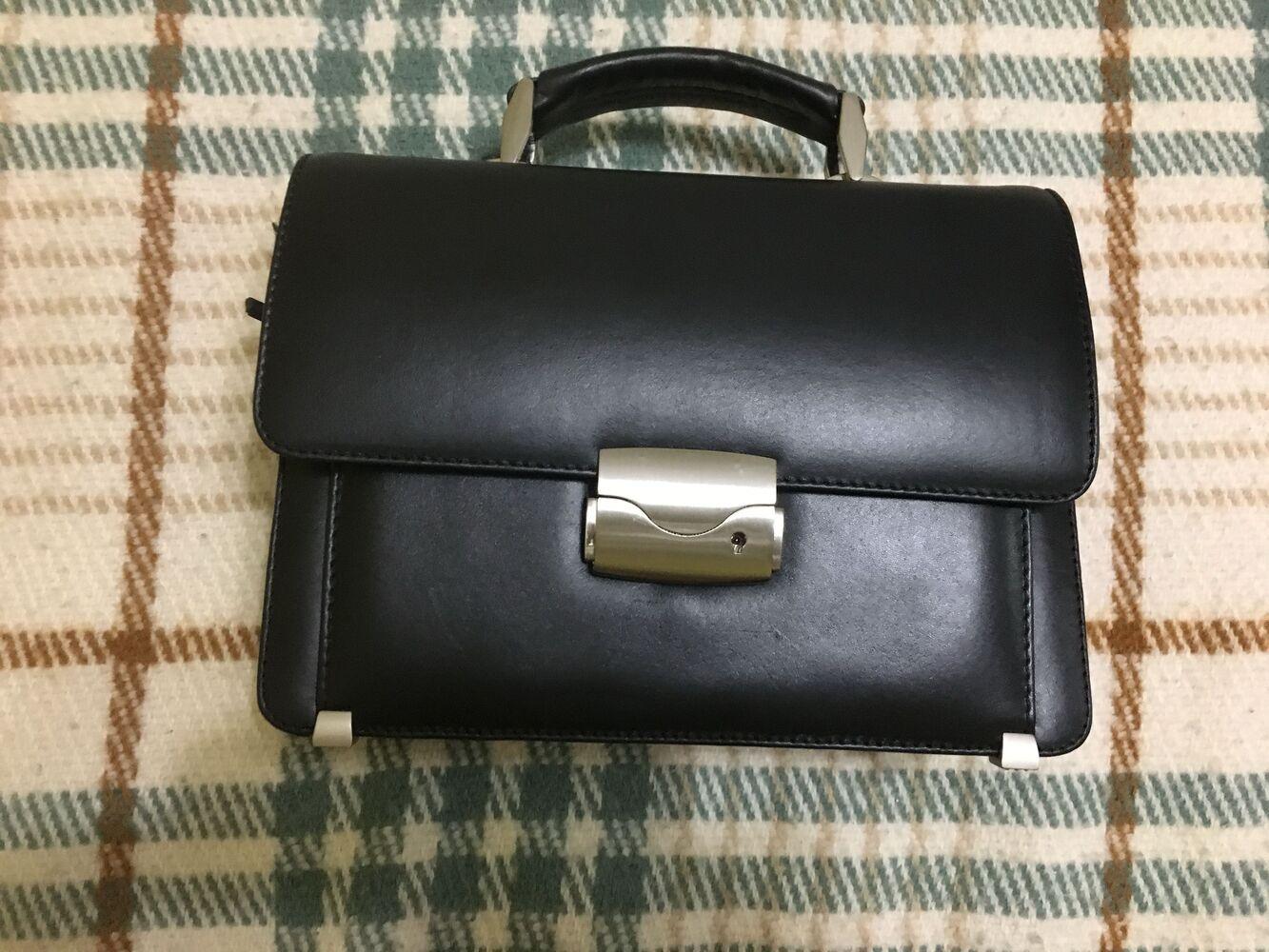 Чоловіча сумочка - борсетка Canpel із натуральної шкіри
