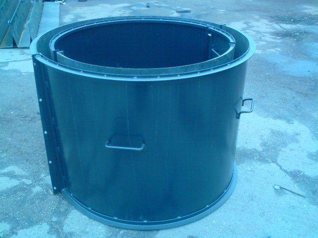 Форма для бетонних колодязних кілець
