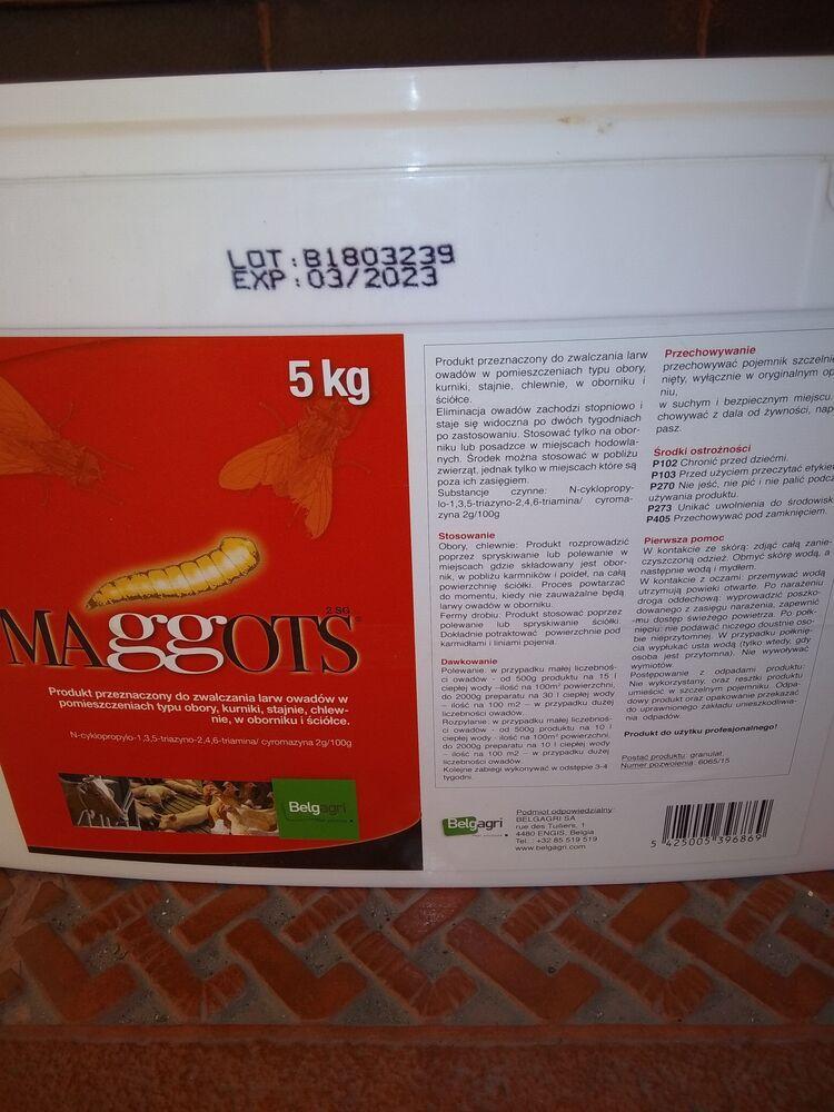 MAGGOTS - для знищення личинок мух