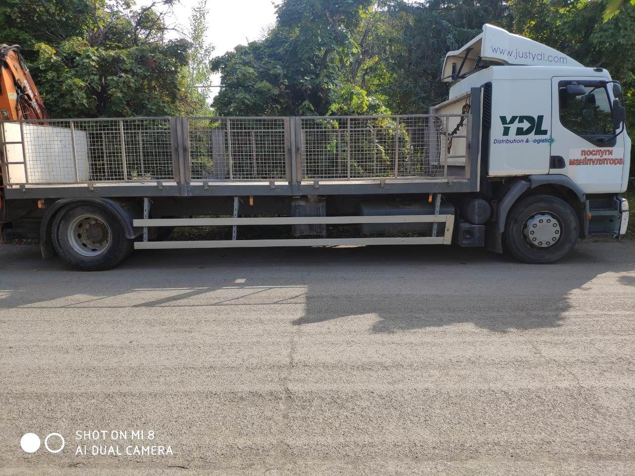 Вантажні перевезення 8 т, кран-маніпулятор