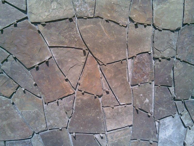Укладання природного каменю.