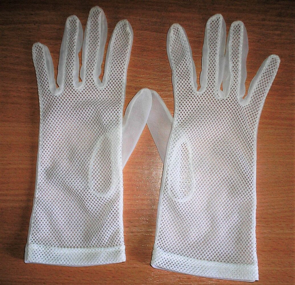 Фата, рукавички