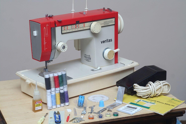 Швейна машина Veritas 8014-40, Німеччина, шкіра, 16,9 кг. Гарантія 6 міс.