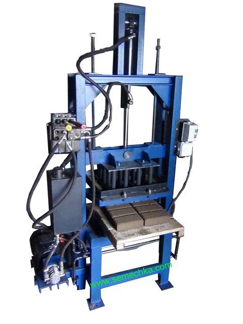 Вібропрес гідравлічний для виробництва шлакоблоків.бруківки,поребриків