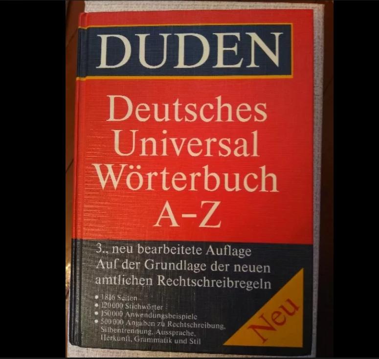 Універсальний словник Duden