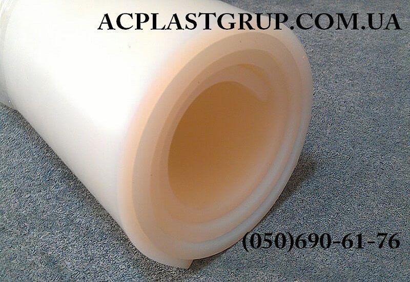 Гума силіконова термостійка, в рулонах, товщина 2.0-10.0 мм, ширина 1200 мм.
