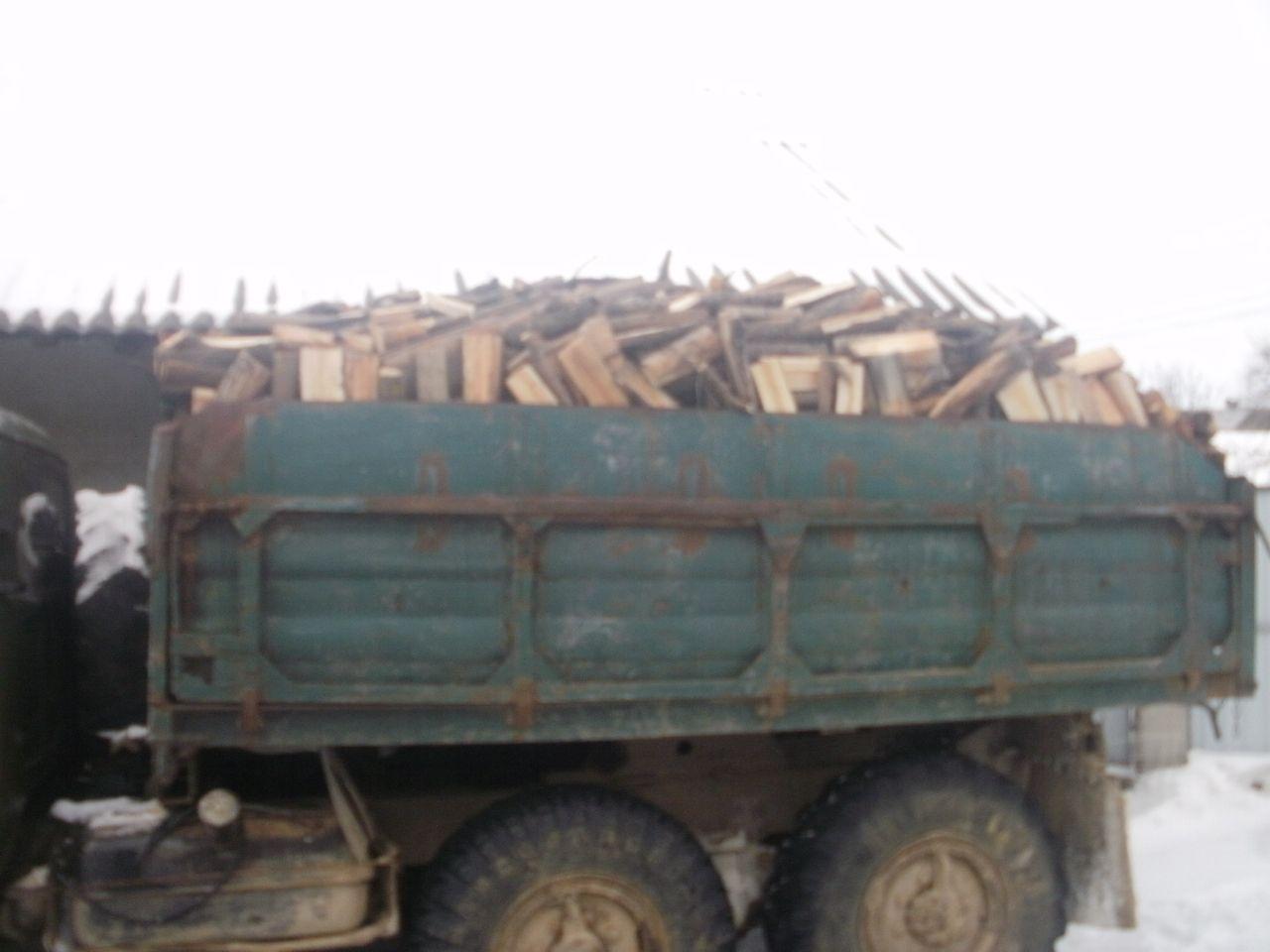 Колоті букові дрова