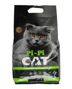 Наповнювач для котячого туалету, що грудкується  - Бентонітовий Pi Pi Cat