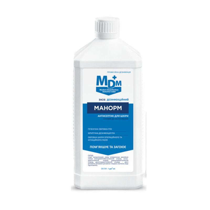 МАНОРМ 100мл -  спрей антисептик для рук та шкіри, заживляючий