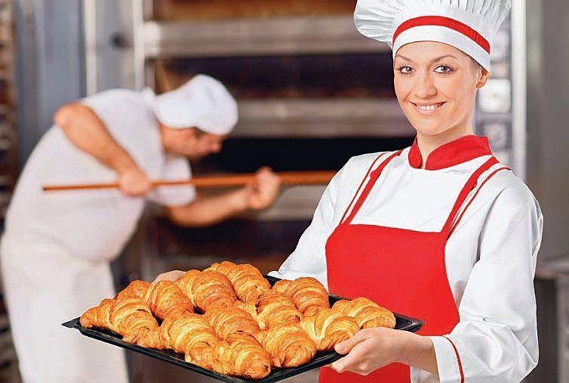 Працівники на пекарню.