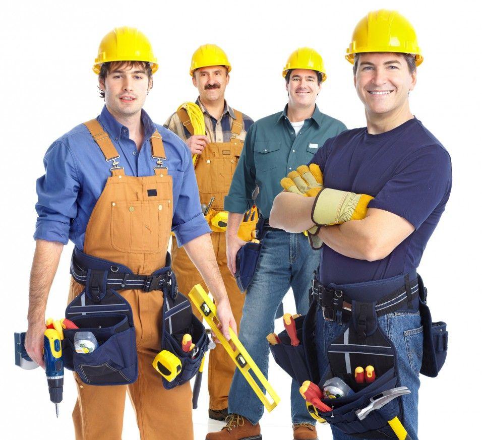 Працівники на будову
